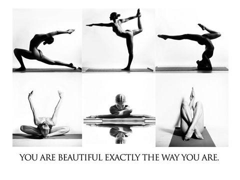 25岁瑜伽女孩用镜头记录美好身体