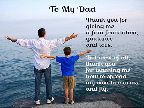 ‎Happy Fathers Day 2018 Quotes Images Wishes Wallpapers from Son Daughter