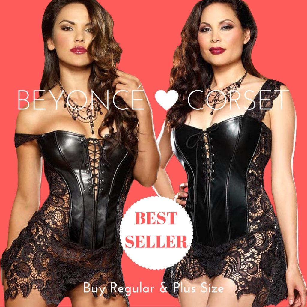 Sensual Lingerie Women Men Online Australia - Beyonce Corset Best Seller