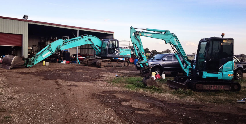Digger Hire Hunter Region, Truck Hire Scone, Excavator Hire Muswellbrook