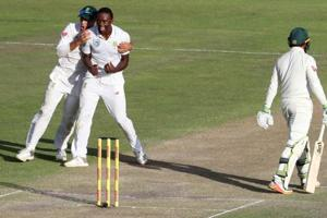Kagiso Rabada charged with misconduct for second time in 2nd Test vs...