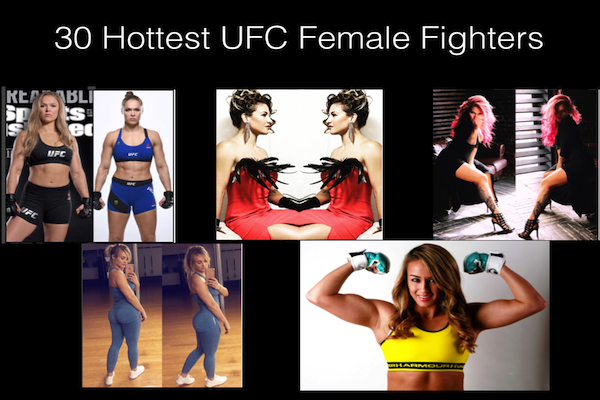 Hottest UFC Female Fighters