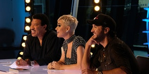 """Lionel Richie, Katy Perry and Luke Bryan of """"American Idol."""""""