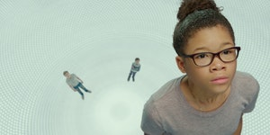 """Storm Reid plays a young girl who sets out to find her missing father in """"A Wrinkle in Time."""""""