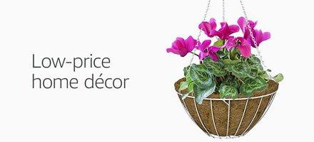 Low-price home décor