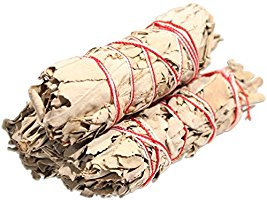 """White Sage Smudge Sticks - Each Stick Approx. 4"""" Long - Pack of 3"""