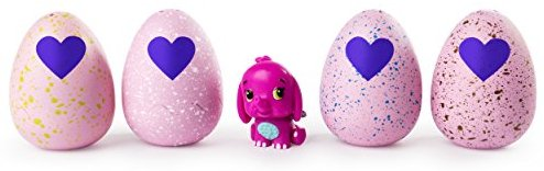 Hatchimals CollEGGtibles Season 2 - 4-Pack + Bonus (Styles & Colors May Vary) by Spin Master