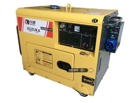 5KW移动式柴油发电机