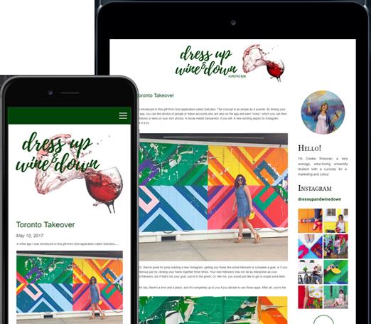 Bravenet Easy Drag and Drop Blog Builder