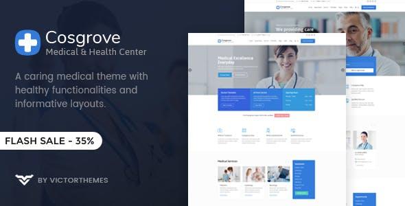 Cosgrove - Medical & Healthcare WordPress Theme