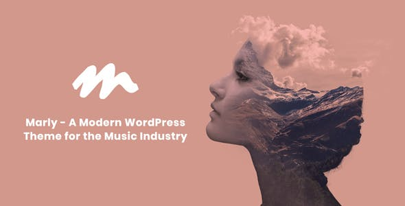 Marly - A Modern WordPress Theme for the Music Industry