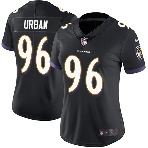 Women's Brent Urban Camo Limited Football Jersey: Baltimore Ravens #96 2018 Salute to Service  Jersey