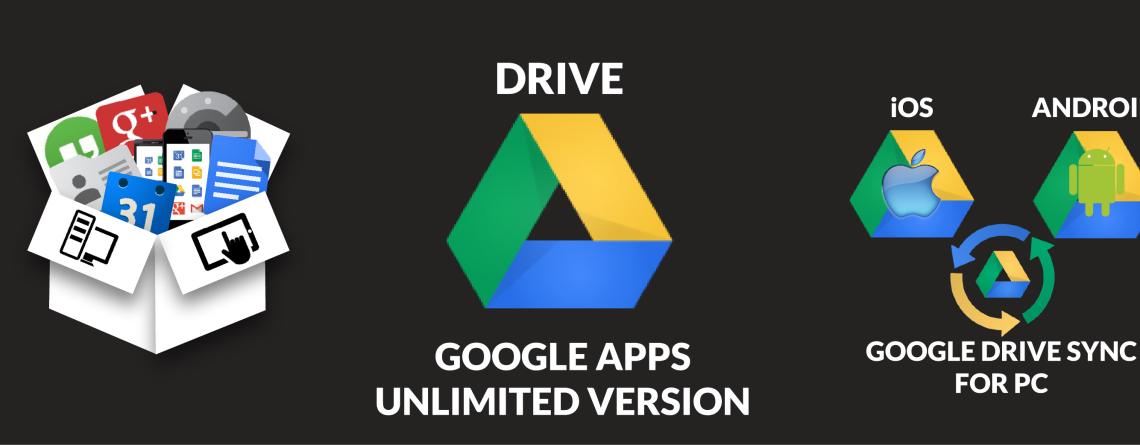 Unlimited storage capacity with Google Drive