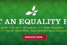 Equality Holiday  / Give the gift of Equality in the South. Make your year-end, tax deductible donation at EqualityNCFoundation.org. #equalityholiday