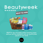 Beauty Sampler Week 2015 – RSVP To Win This Amazing Gift Basket