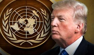 President Trump attends his inaugural United Nations assembly.