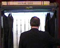 Al Gore casts his vote in Elmwood, Tenn., voting booth (actual campaign photo)