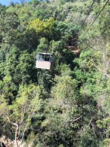 "Ella Jungle Resort - The cable car known as ""Tuk Tuk in the Sky"""