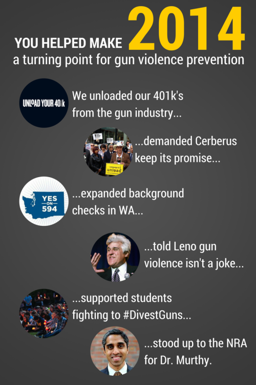 What gun violence prevention victory are you most proud of this year?