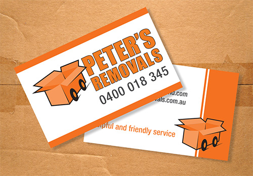 Website Build and Stationery for Peter's Removals