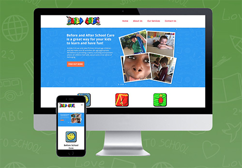 Website Build and Content Management System for Kids Crib in Gosnells