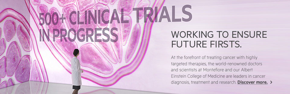 Over 500 clinical trials