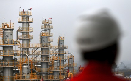 PetroChina aims to lift gas output by 23.7 per cent between last year and 2020. Photo: AP