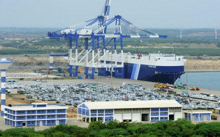 China's control of strategic port Hambantota in Sri Lanka is one of the belt and road investments that has worried Japan and other countries. Photo: AFP