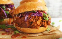 vegan barbecue - vegan pulled pork