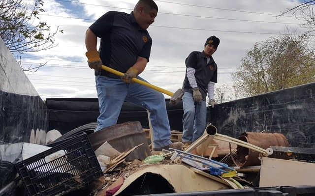 junk hauling S and H Hauling Service Albuquerque New Mexico