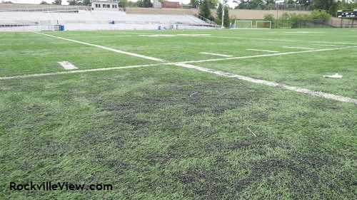 Artificial turf RMHS field