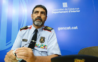 In this Aug. 31, 2017 file photo, Catalan regional police chief Josep Luis Trapero attends a press conference in Barcelona, Spain.  (AP Photo/Manu Fernandez)