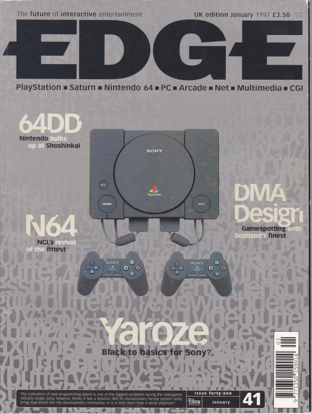 cover page: Yaroze Black to basics for Sony?