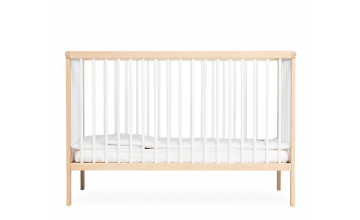 moKee mini cot in white color