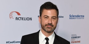FILE - In this June 16, 2017, file photo, Jimmy Kimmel attends the 30th annual Scleroderma Foundation Benefit at the Beverly Wilshire hotel in Beverly