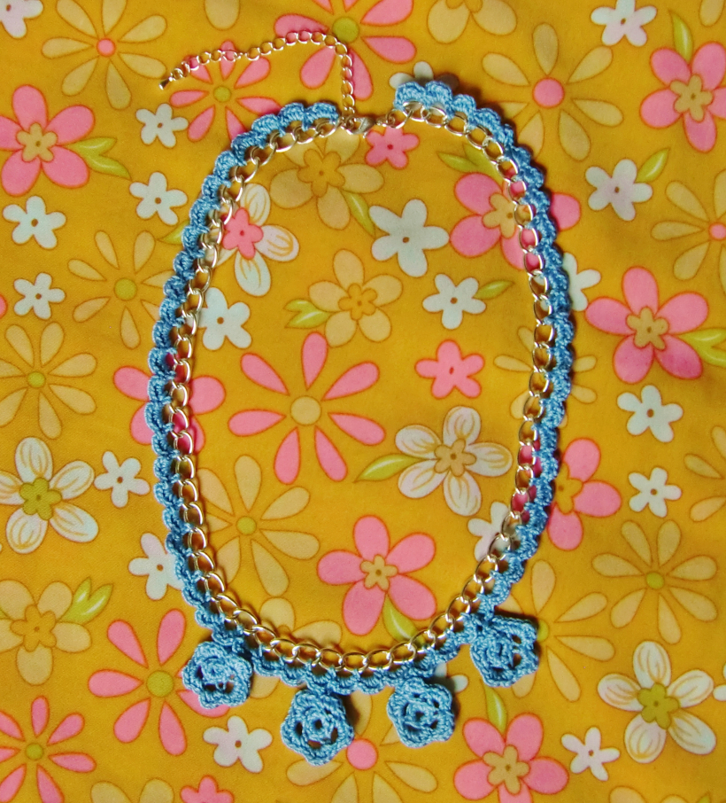 chiaki creates anchor freccia crochet necklace tutorial 5