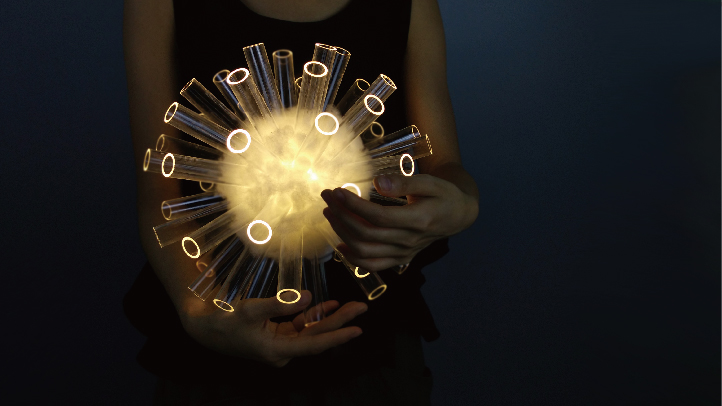 蒲公英灯具Dandelion lamp