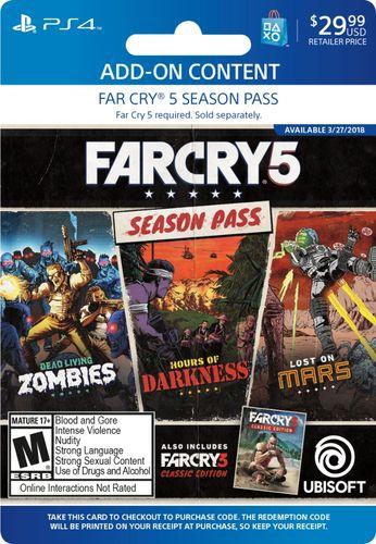 Far Cry 5 Season Pass - PlayStation 4 [Digital] - Larger Front