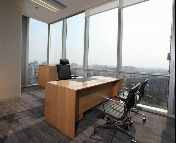 古朴自然的中式风格办公室设计2