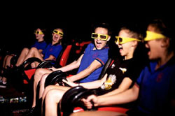9D Action Cinemas in Darling Harbour