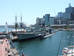 Australian National Maritime Museum in Darling Harbour