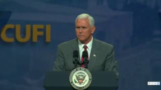 Vice President Mike Pence at Christians United for Israel 2017