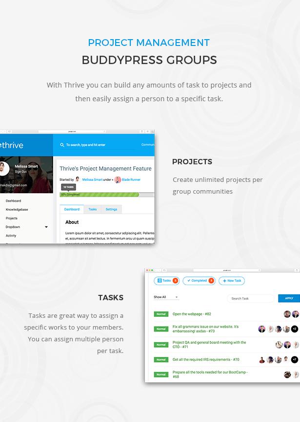 مدیریت ThriveProject
