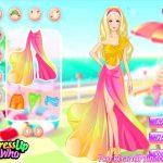 Barbie beach Dress-up