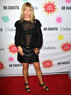 """Kim Gordon arrives at the Premiere Of IFC Midnight's """"Antibirth"""" at Cinefamily on August 21, 2016 in Los Angeles, California."""