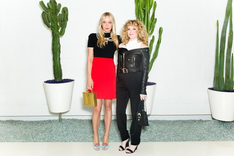 Chloe Sevigny and Natasha Lyonne  attend the Women of Cinefamily weekend closing party at The Standard Hollywood on August 21, 2016 in West Hollywood, California.