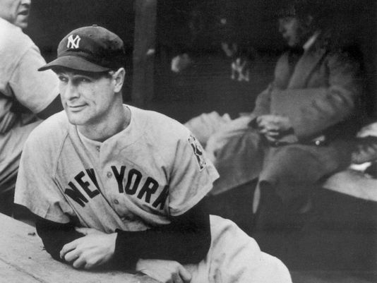1939 : Lou Gehrig Removes Himself From Lineup Against Tigers, Breaking Streak of 2130 Games