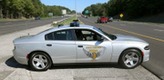 State troopers fire shots at two men who tried to ram cruiser in Cleveland