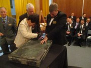 Lyndhurst Masonic lodge celebrates 150 years by opening time capsule; Shaker roots remembered