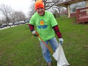 Chilly, soggy weather didn't stop Keep Lakewood Beautiful volunteers from sprucing up the city